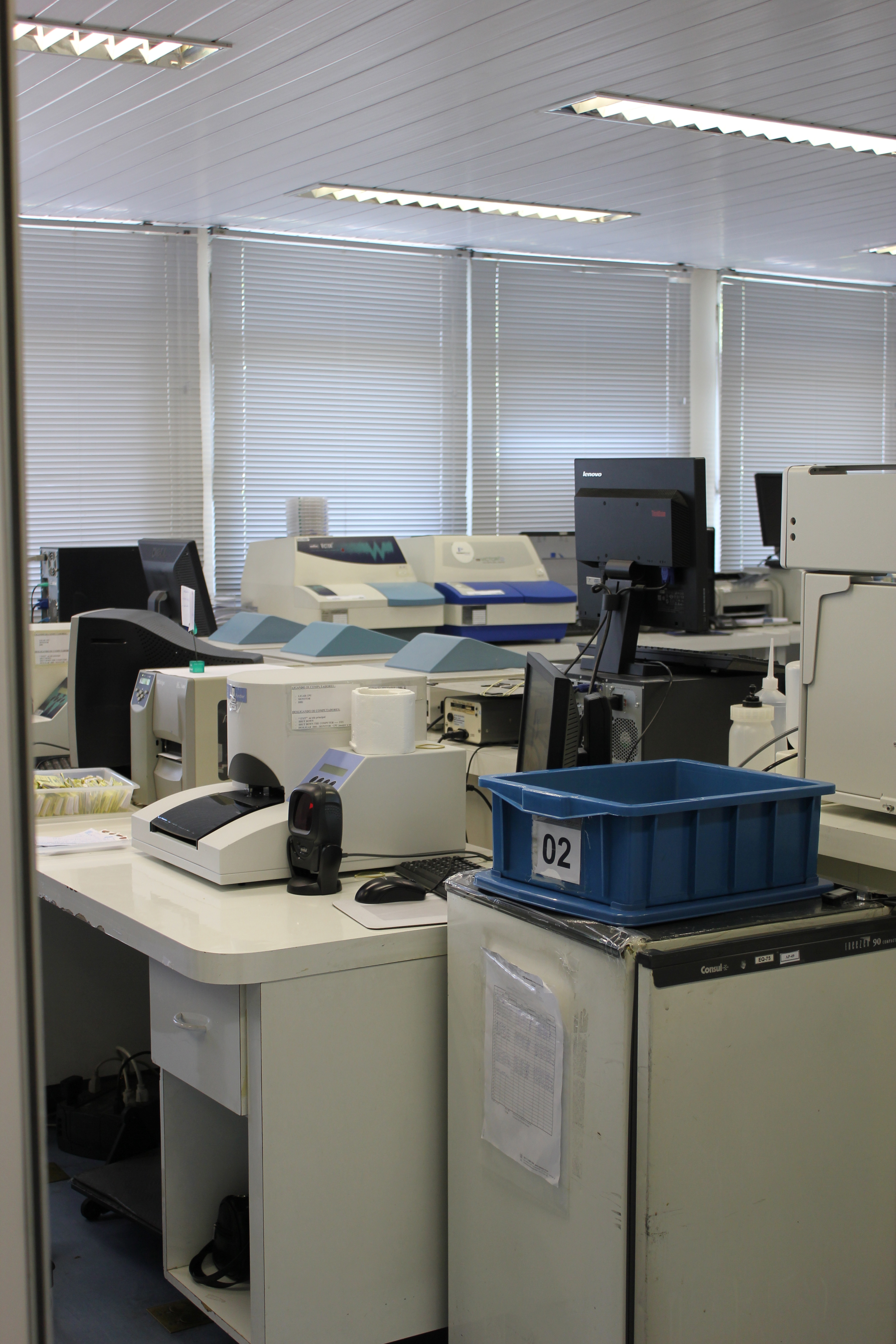 Newborn Blood Screening Lab