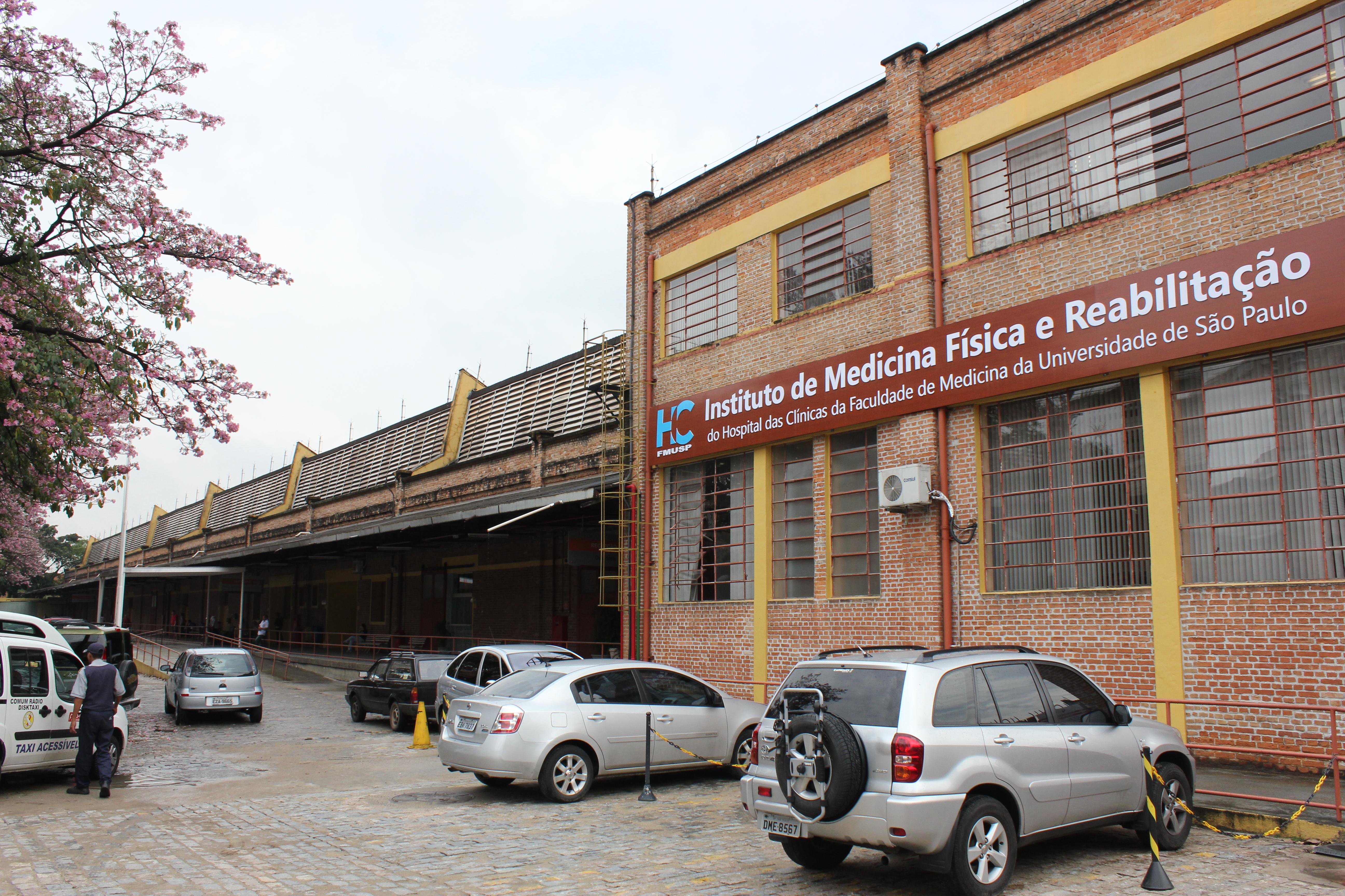 Exterior of the Rede De Reabilitação Lucy Montoro