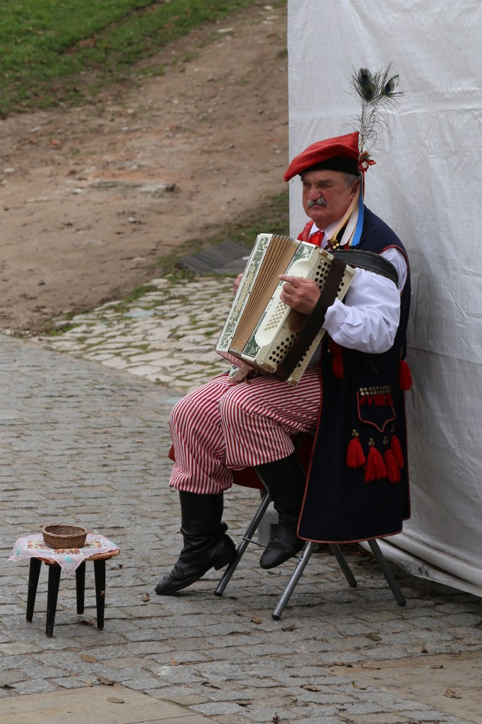 Polish Accordion Player